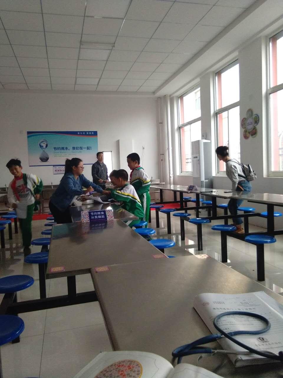 青岛西海岸新区宝山卫生院开展健康查体进校园活动,1501名学生免费