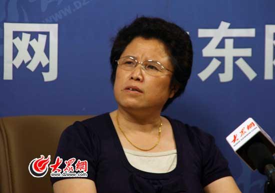 山东省肿瘤医院吕桂蓉主任- 健康图片直播-大众
