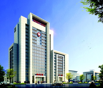 济南市第五人民医院综合大楼效果图